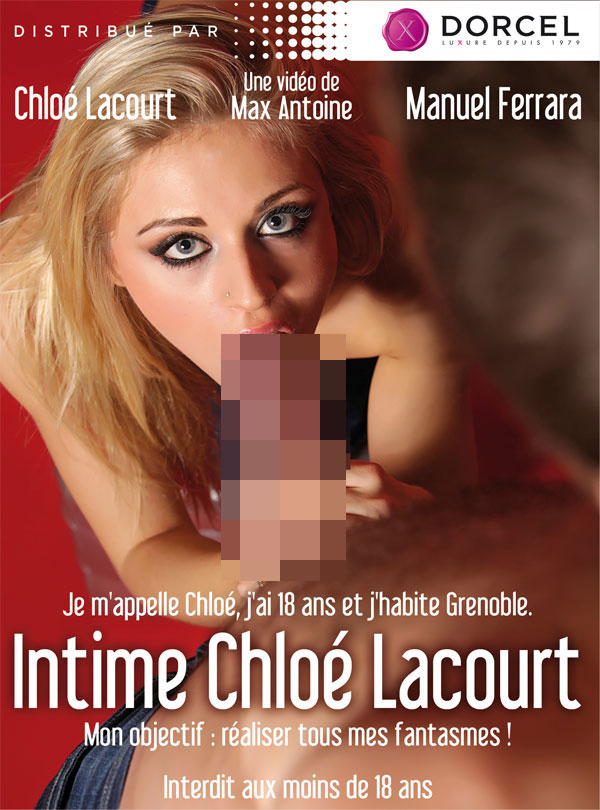 Cover Intime Chloé Lacourt