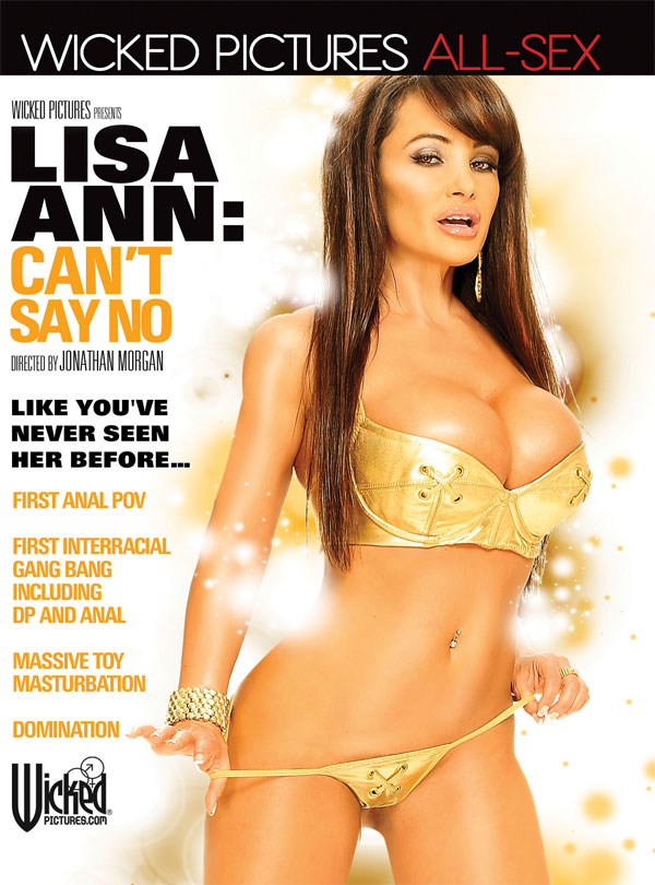 Cover Lisa Ann: Can't say no