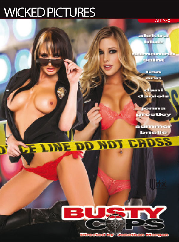 Cover Busty Cops