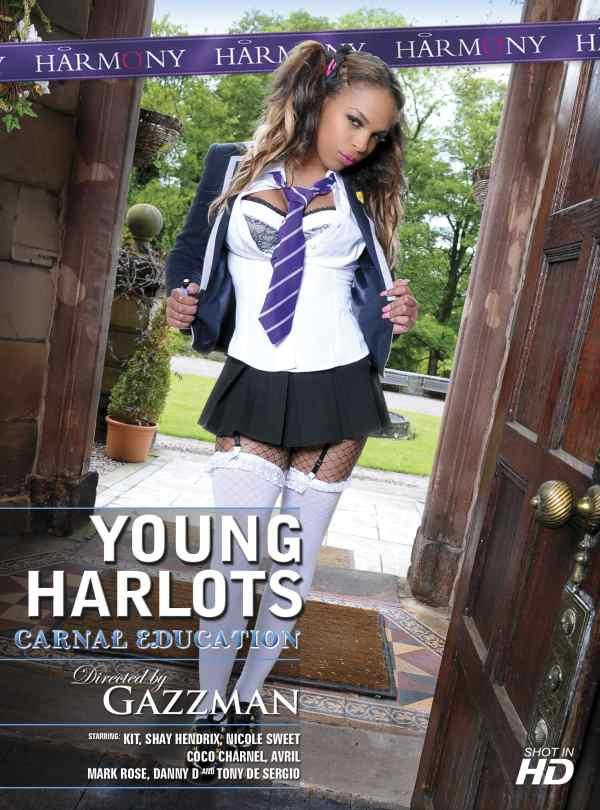 Cover Young Harlots Carnal Education