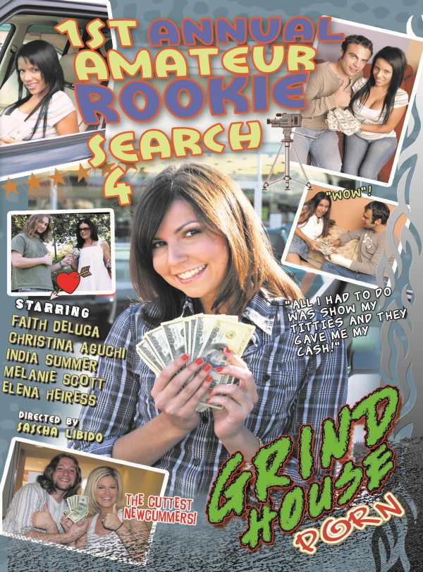 Cover 1ST ANNUAL AMATEUR ROOKIE SEARCH #4