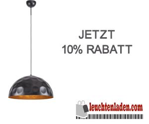 -10% auf Lampen & Leuchten