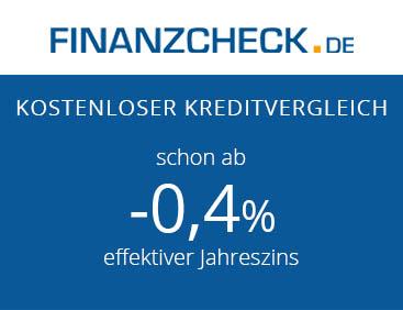 Kredite ab -0,4% effektiver Jahreszins