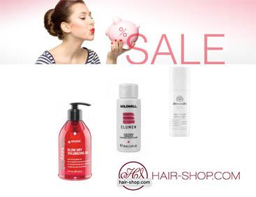 Bis -50% auf Haarpflege-Produkte