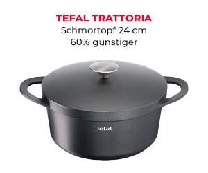 60% Rabatt: TEFAL Aluguss-Schmortopf