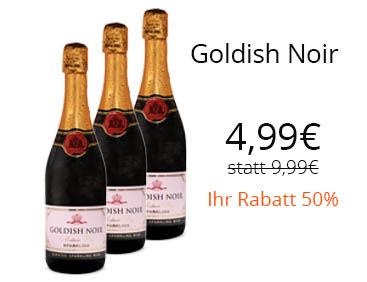 50 Rabatt: Goldish Noir - Sparkling halbtrocken