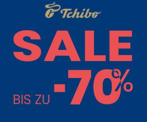 Tschibo-SALE: Bis zu 70% RABATT