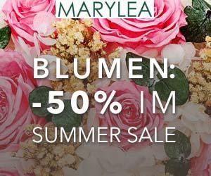 Blumen: -50% im Summer-SALE
