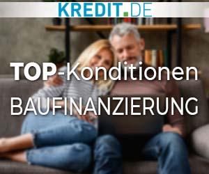 TOP-Konditionen: Baufinanzierung