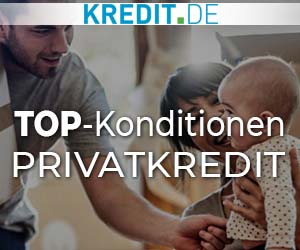 TOP-Konditionen: Privatkredit