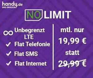 -33% Rabatt auf deine LTE-Flat