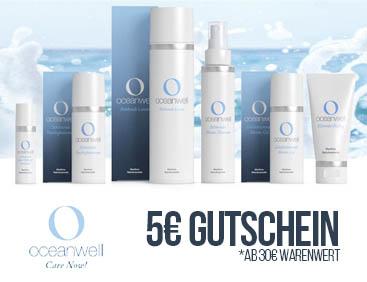 5 € Gutschein: Oceanwell-Naturkosmetik
