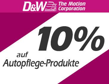 10% auf Auto-Pflegeprodukte