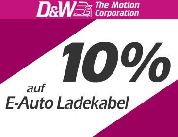 10% auf E-Auto Ladekabel