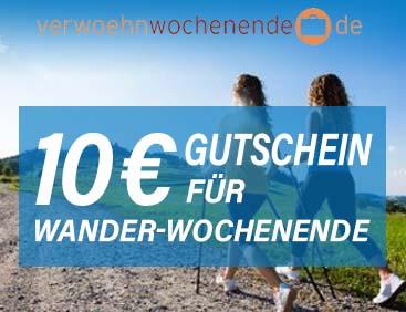 10€ Gutschein Wander-Wochenende