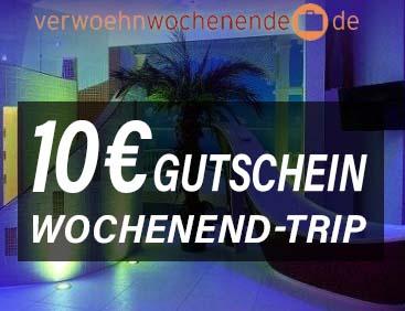 10 € Gutschein Wochenend-Trip