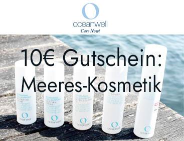 10 € Gutschein: Meeres-Naturkosmetik