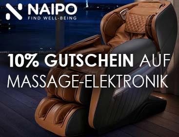 10% Gutschein für Massage-Elektronik