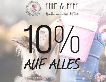 EMMY & PEPE: 10% auf Alles