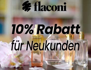 10% Rabatt bei flaconi
