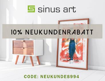 10% Rabatt auf schöne Kunst