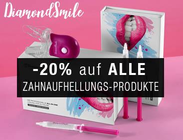 -20% auf ALLE Zahnaufhellungs-Produkte