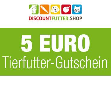 5 € Tierfutter-Gutschein