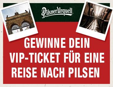 Reise-Gutscheine nach Pilsen gewinnen