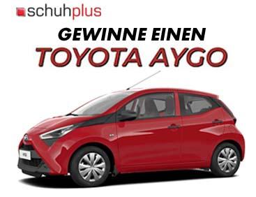 Gewinne einen Toyota Aygo