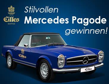 Original Mercedes Pagode gewinnen