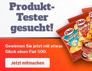 Produkttester gesucht