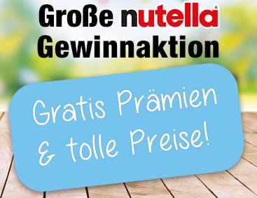 Große Nutella-Gewinnaktionen