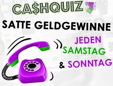 Cash-Quiz: Jeden SA & SO Geldgewinne