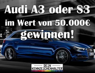 Audi A3 oder S3 gewinnen