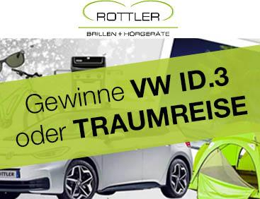 VW E-Auto  oder Reise zu gewinnen